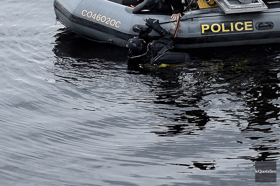 Les plongeurs de laSûreté du Québec sont régulièrement... (archives Le Quotidien)