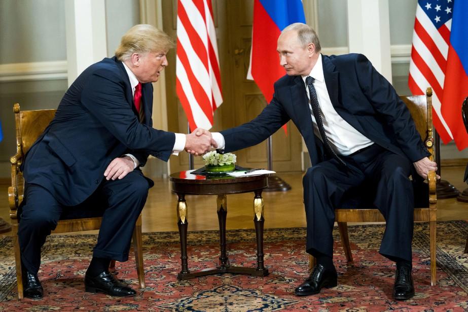 La surprenante conférence de presse du président américain... (PHOTO THE NEW YORK TIMES)
