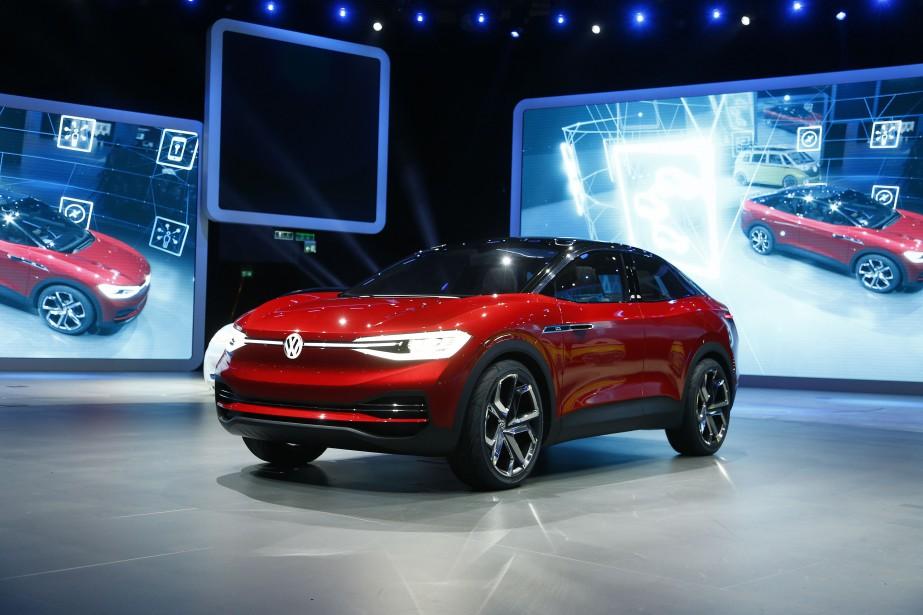 Volkswagen I.D. Crozz Concept (photo REUTERS)