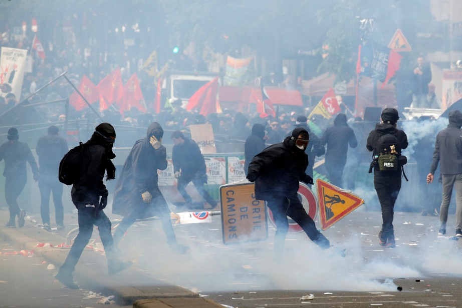 L'incident s'est produit à l'occasion des manifestations annuelles... (PHOTO REUTERS)