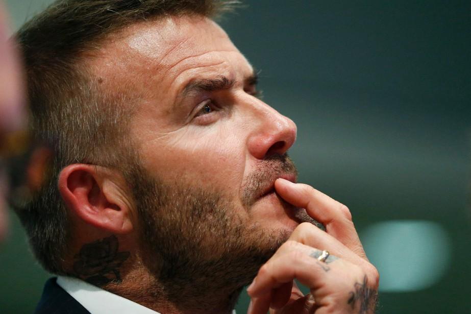 David Beckham est l'un des propriétaires du nouveau... (Photo Rhona Wise, Archives AFP)