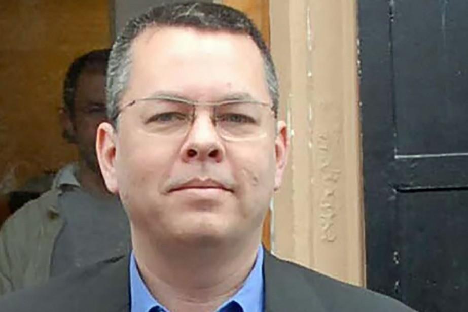 Lepasteur américain Andrew Brunson est jugé pour «terrorisme»... (Photo Archives AFP)
