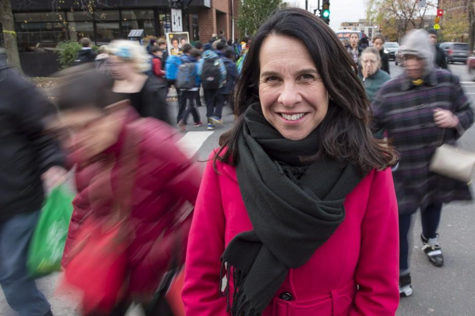 Valérie Plante le 1ernovembre dernier, soit quatre jours... (Photo Paul Chiasson, Archives La Presse Canadienne)