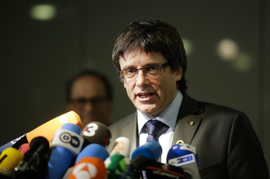 L'ex-président catalan Carles Puigdemont... (Photo Archives, AP)