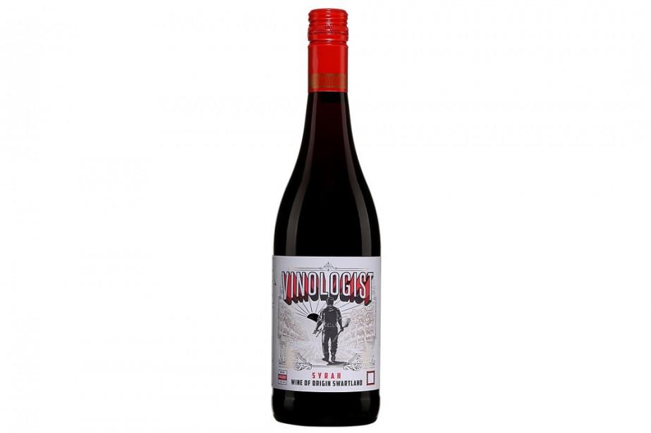 Vinologist Syrah Wine of Swartland... (Image fournie par la SAQ)