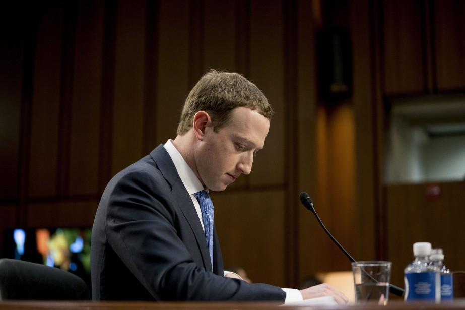 Le PDG de Facebook, Mark Zuckerberg... (PHOTO ARCHIVES AP)