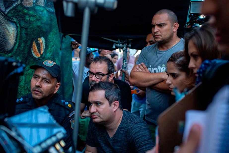«C'est la seule favela dans laquelle on peut... (Photo AFP)
