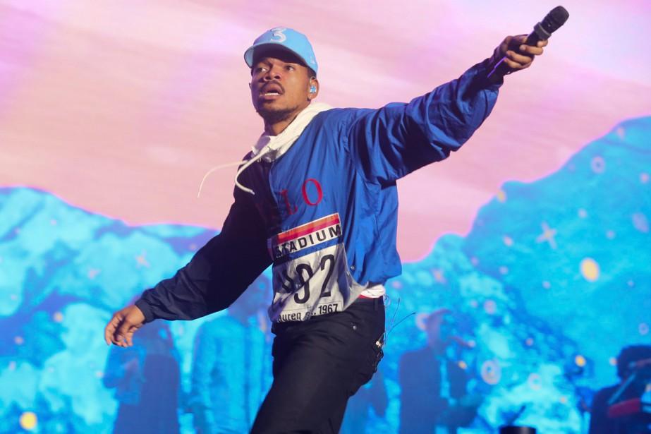 Le rappeur américain Chance the Rapper a annoncé jeudi... (Photo archives AP)