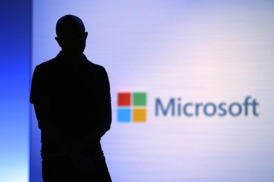 Le PDG de Microsoft Satya Nadella.... (Photo Elaine Thompson, Archives AP)
