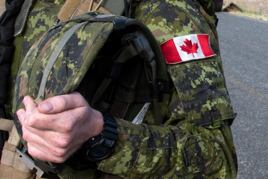 Un soldat de l'armée canadienne.... (ARCHIVES REUTERS)