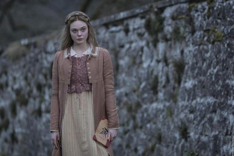 Elle Fanning incarne Mary Shelley dans le film... (Photo fournie par TVA Films)