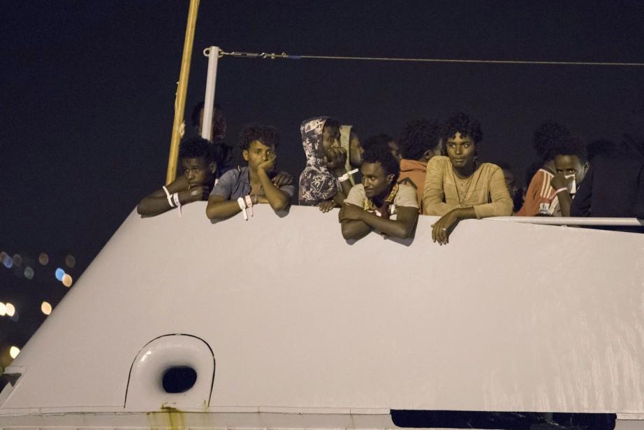 L'Italie a officiellement demandé à ne plus être... (PHOTO ARCHIVES AP)