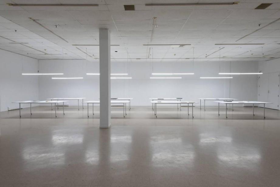 Vue de l'exposition Room(s) to move: je, tu,... (Photo Éliane Excoffier, fournie par l'artiste)