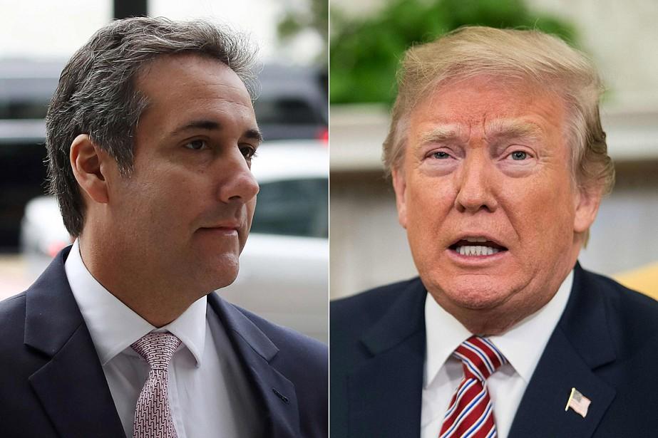Michael Cohen, ex-avocat personnel de Donald Trump, a... (PHOTOS ARCHIVES AFP ET GETTY IMAGES)