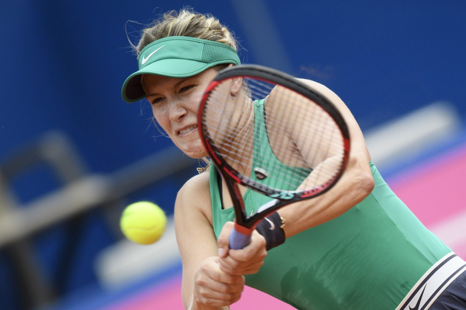 Eugenie Bouchard... (PHOTO ANTHONY ANEX, KEYSTONE VIA AP)