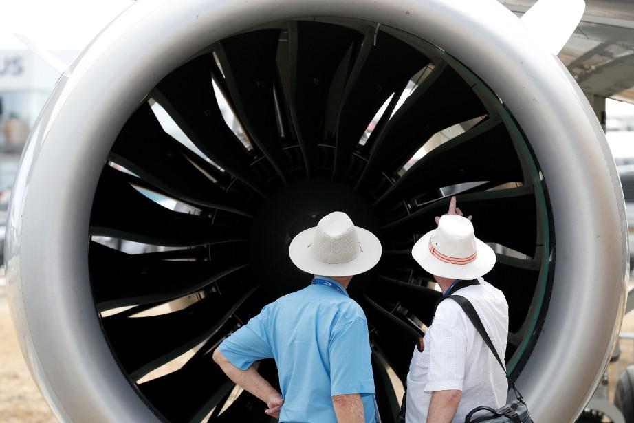 Le nombre de visiteurs professionnels a augmenté de... (PHOTO Adrian DENNIS, AFP)