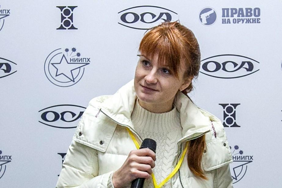 Maria Boutina a été arrêtée aux États-Unis pour... (PHOTO ARCHIVES AGENCE FRANCE-PRESSE)