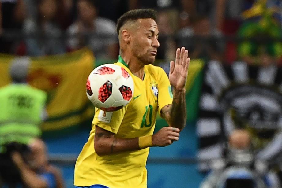 Neymar... (AFP)
