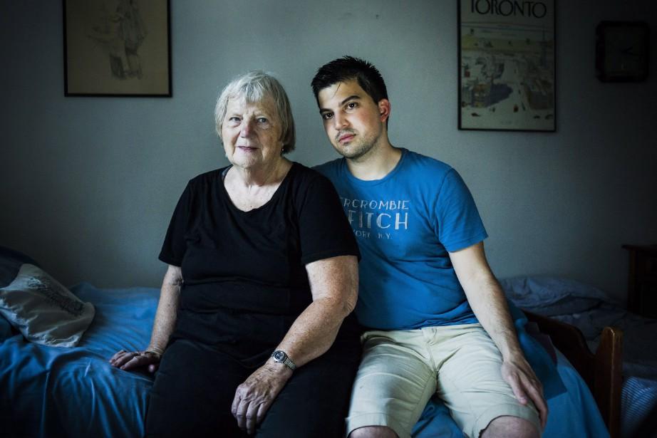 Pour Elizabeth Hill et Julio Hernandez, qui vivent... (Photo La Presse canadienne)