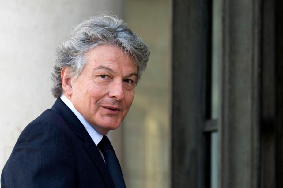 Thierry Breton n'avait pas caché son ambition de... (AFP)