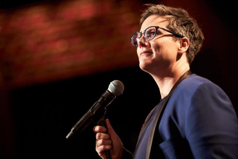 L'humoriste Hannah Gadsby donnera àMontréal la toute dernière... (PHOTO BENKING, FOURNIE PAR NETFLIX, LA PRESSE CANADIENNE)