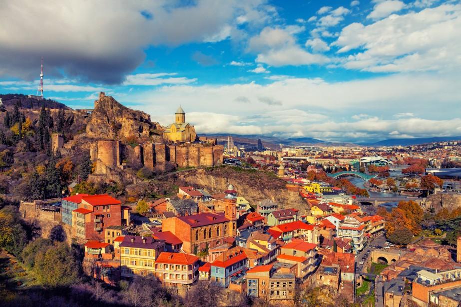 Tbilissi, capitale de la Géorgie, est une superbe ville au... (Photo Thinkstock)