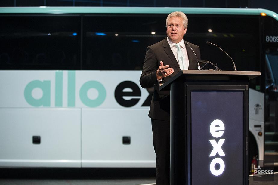 Raymond Bachant était directeur général d'EXO depuis mars2017.... (Photo La Presse)