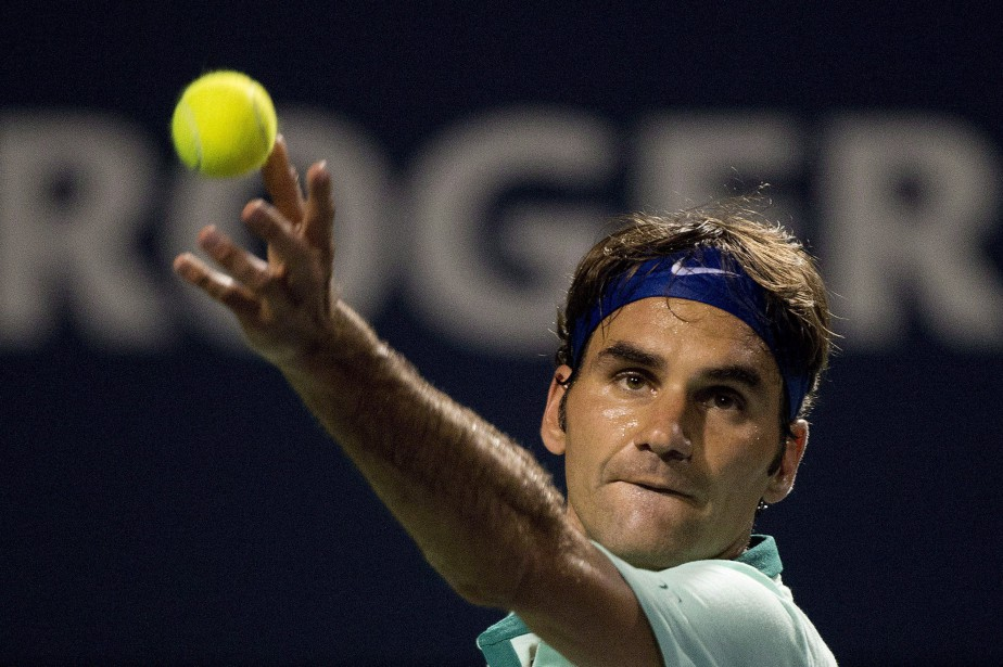 Roger Federer, dont le dernier passage à Toronto remonte... (Photo Nathan Denette, archives La Presse canadienne)