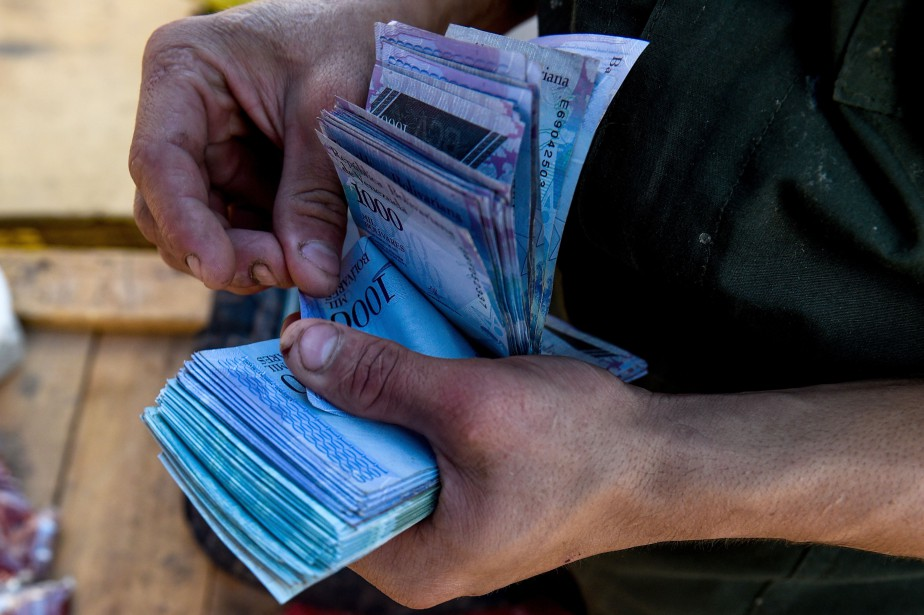 Le Venezuela se retrouve dans une situation économique... (Photo Federico PARRA, archives Agence France-Presse)