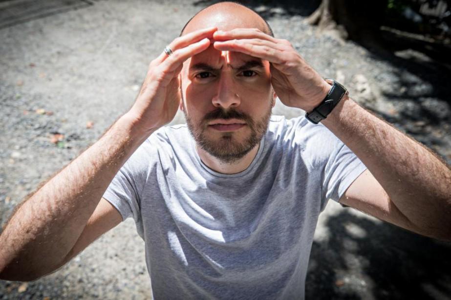 L'humoriste françaisKyanKhojandi est à Montréal pour animer le... (Photo PatrickSanfaçon, La Presse)