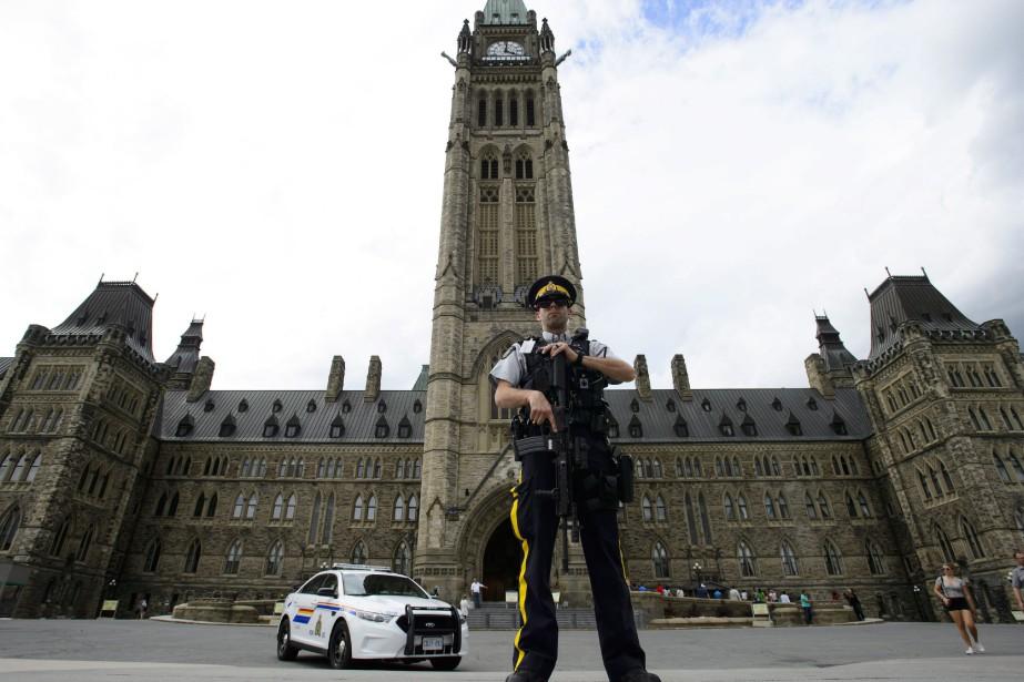 L'attaque s'est produite durant la Cérémonie de Changement... (Photo La Presse Canadienne)