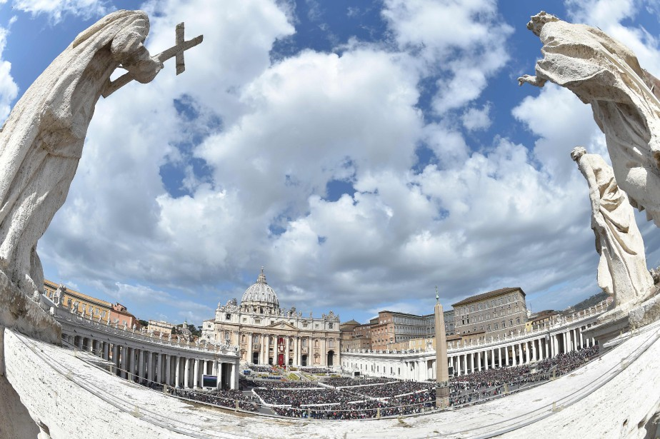 La place Saint-Pierre, au Vatican.... (ARCHIVES AFP)