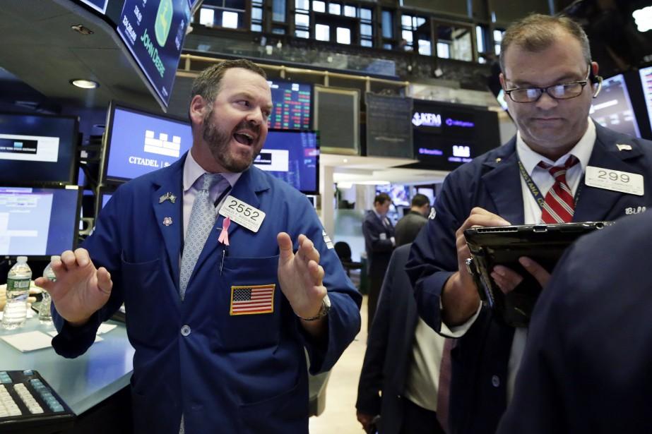 Wall Street a terminé mardi en ordre... (Photo Richard Drew, Associated Press)