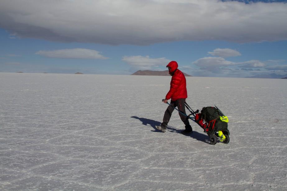 Alban Tessier s'est guidé grâce à un GPS... (Photo Reuters)