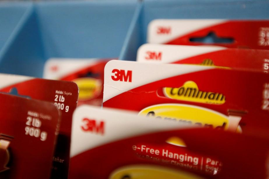 3M estime pouvoir réaliser un profit par action... (Photo Mario Anzuoni, archives Reuters)