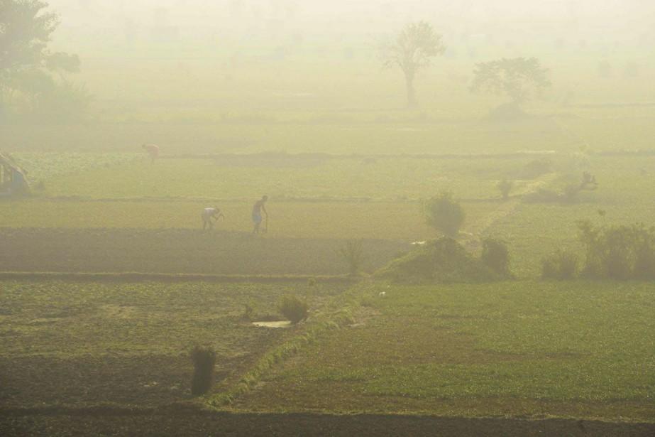 «Généralement, il y a des vagues de chaleur... (PHOTO Dibyangshu SARKAR, archives Agence france-presse)
