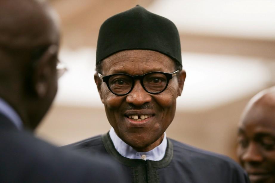 Le président du Nigeria, Muhammadu Buhari... (photo Daniel Leal-Olivas, archives Reuters)