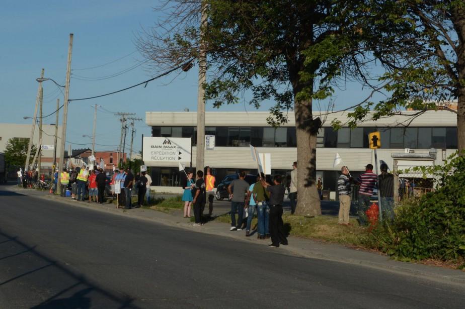 Une grève générale illimitée avait été déclenchée vendredi... (Photo fournie par le syndicat des Teamsters)