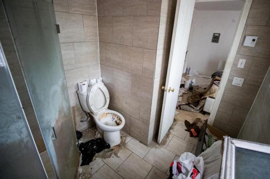 Un corps en putréfaction a été retrouvé la... (PHOTO MARCO CAMPANOZZI, LA PRESSE)