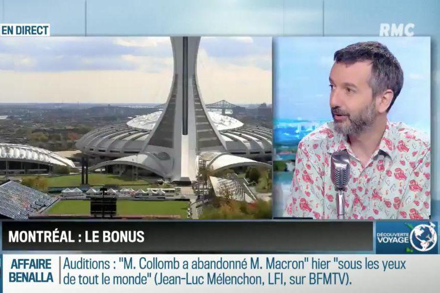 Antoine Besse, chroniqueur à l'émissionBourdin direct... (Capture de l'émissionBourdin direct)