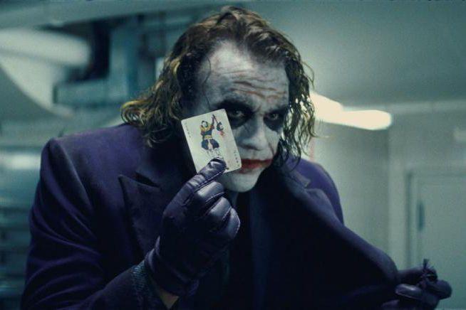 Heath Ledger dans The Dark Knight... (Photo fournie par Warner Bros)
