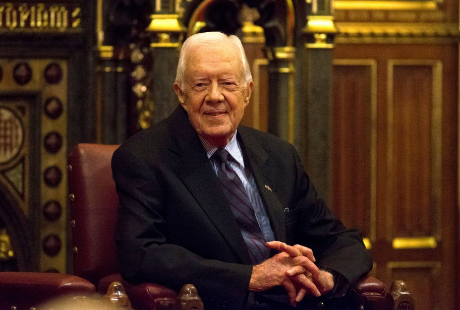 L'ex-président américain Jimmy Carter... (Photo Neil Hall, archives REUTERS)
