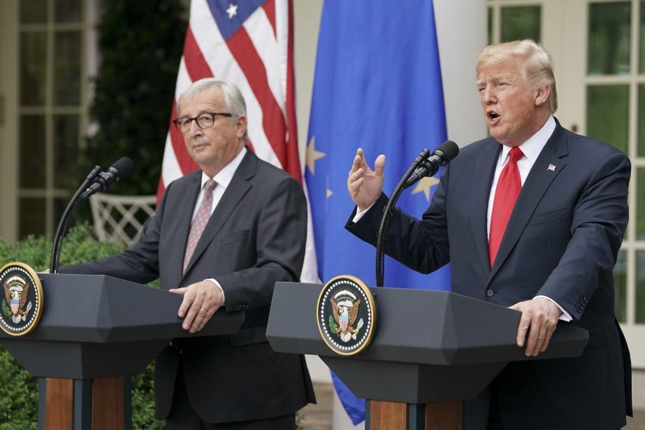 Les deux leaders ont estimé que les relations... (Photo Pablo Martinez Monsivais, Associated Press)