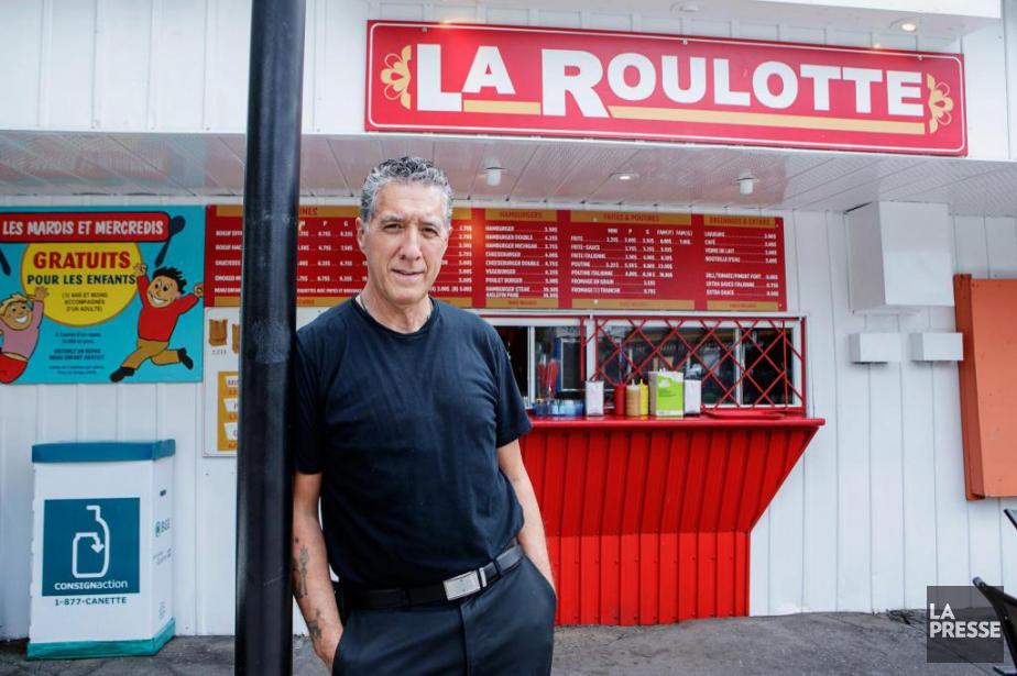 Gilles Duguay, 61ans, propriétaire de la Roulotte à... (Photo Alain Roberge, La Presse)