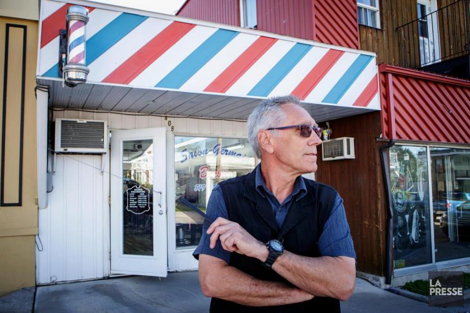 Christian Plouffe, 65ans, barbier-coiffeur, Mont-Laurier.... (Photo Alain Roberge, La Presse)