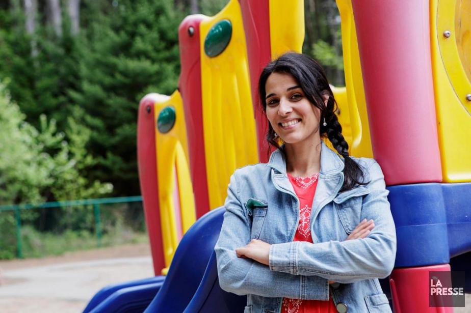 Mélanie Goulet, 35 ans, éducatrice, Mont-Tremblant... (Photo Alain Roberge, La Presse)