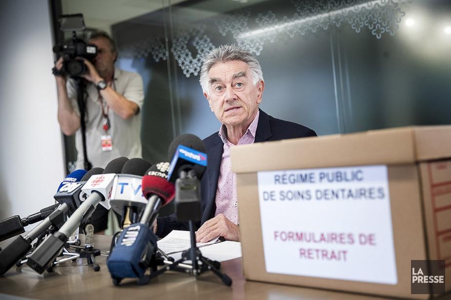 Le président de l'Association des chirurgiens dentistes du... (PHOTO MARCO CAMPANOZZI, LA PRESSE)