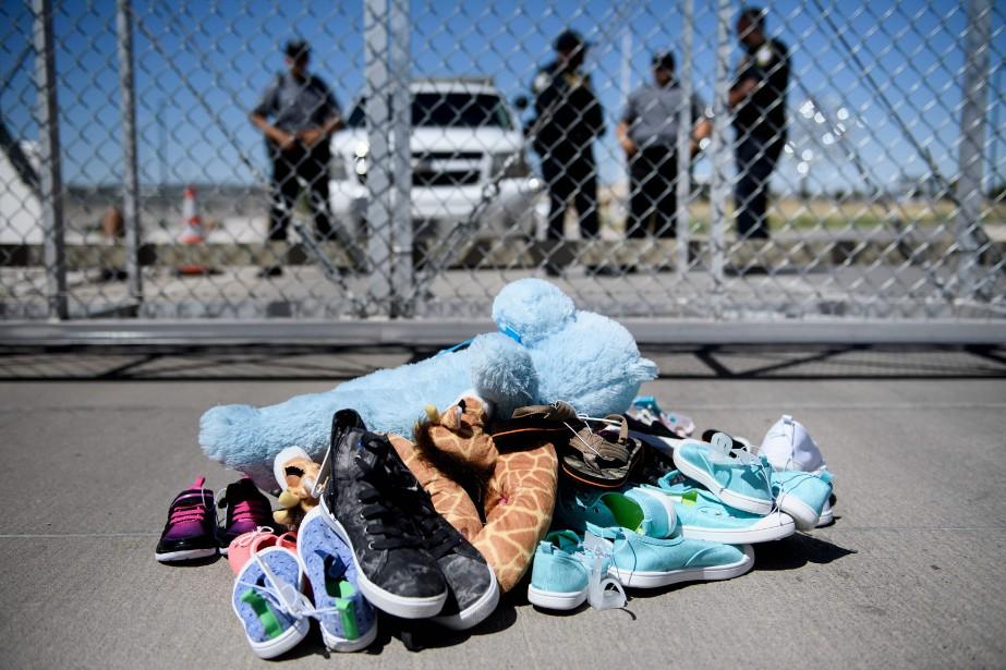 La politique de «tolérance zéro» de Donald Trump,... (PHOTO AFP)