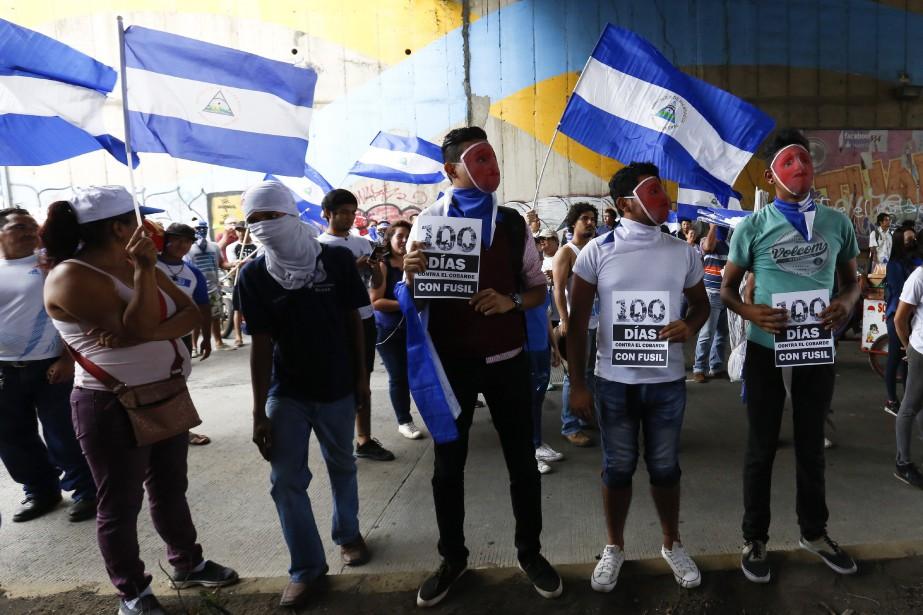 «Ce sont cent jours de combat afin de... (Photo Alfredo Zuniga, AP)