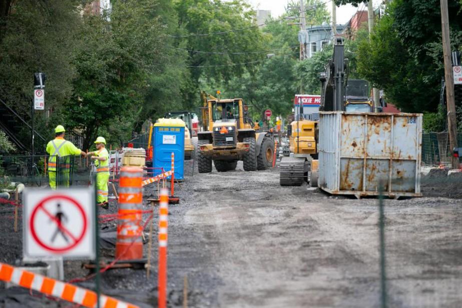 Montréal a entrepris cet été de transformer la... (Photo David Boily, La Presse)